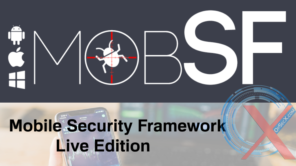 Mobile Security Framework Live Course